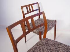 Niels Otto M ller Set of Four Hardwood Model 79 Chairs by Niels Otto Moller - 1228917