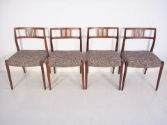 Niels Otto M ller Set of Four Hardwood Model 79 Chairs by Niels Otto Moller - 1228919