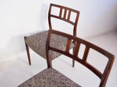 Niels Otto M ller Set of Four Hardwood Model 79 Chairs by Niels Otto Moller - 1228922