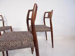 Niels Otto M ller Set of Four Hardwood Model 79 Chairs by Niels Otto Moller - 1228924