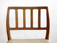 Niels Otto M ller Set of Four Model 83 Niels Otto M ller Teak Chairs - 1263293