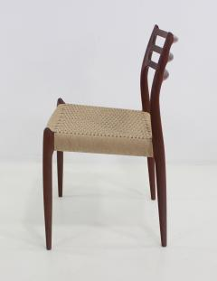 Niels Otto M ller Six Scandinavian Modern Dining Chairs Designed by Niels Moller - 983198
