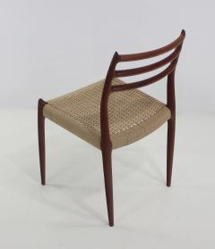 Niels Otto M ller Six Scandinavian Modern Dining Chairs Designed by Niels Moller - 983201