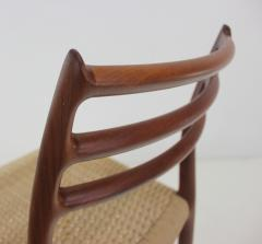 Niels Otto M ller Six Scandinavian Modern Dining Chairs Designed by Niels Moller - 983204