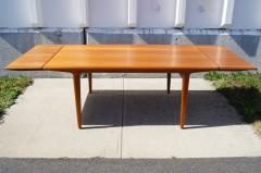 Niels Otto M ller Teak Dining Table with Extensions by Niels M ller - 191305