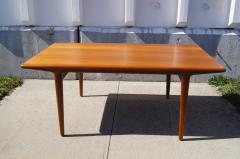Niels Otto M ller Teak Dining Table with Extensions by Niels M ller - 191306