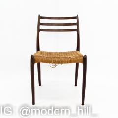 Niels Otto Moller Mid Century Danish Rosewood Dining Chairs Pair - 1869978