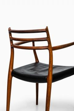 Niels Otto Moller Niels O M ller armchairs model 62 - 711237