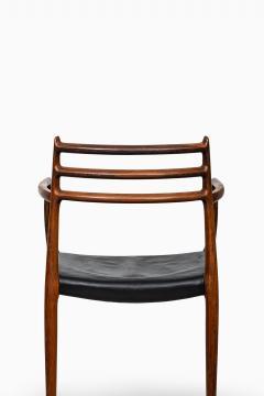Niels Otto Moller Niels O M ller armchairs model 62 - 711241