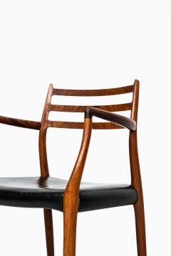 Niels Otto Moller Niels O M ller armchairs model 62 - 711252