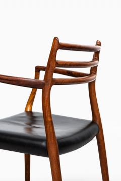 Niels Otto Moller Niels O M ller armchairs model 62 - 711258