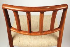Niels Otto Moller Set of 10 Dining Chairs in East Indian Rosewood by Niels Otto Moller - 699455