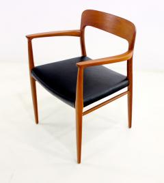 Niels Otto Moller Set of Eight Danish Modern Teak Dining Chairs Designed by Niels Moller - 629594