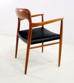 Niels Otto Moller Set of Eight Danish Modern Teak Dining Chairs Designed by Niels Moller - 629595