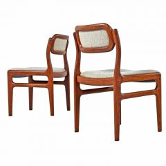 danish design dining chairs mid century modern rosewood dining niels otto moller set of four danish modern solid rosewood dining chairs 651087 møller