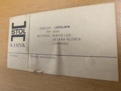 Niko Kralj Foldable Daybed for Stol Kamnik 1957 - 1060771
