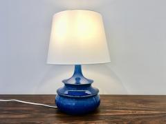 Nils Kahler Rare 1960s Turquoise Glazed Danish Vintage Table Lamp by Nils K hler - 755800