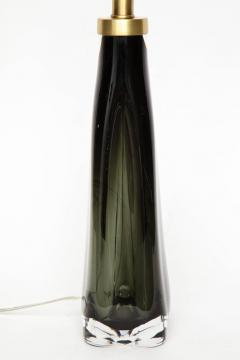 Nils Landberg Nils Landberg Orrefors Dark Bottle Green Lamps - 1061531