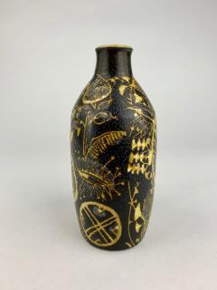 Nils Thorsson Nils Thorsson Royal Copenhagen Brown Bottle Vase - 1363202