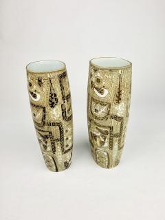 Nils Thorsson Pair of Nils Thorsson Royal Copenhagen Vases - 1375386