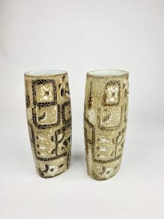 Nils Thorsson Pair of Nils Thorsson Royal Copenhagen Vases - 1375388