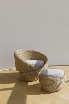 Nina Edwards Anker Knotty armchair - 1433709