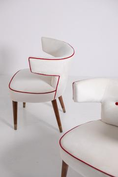 Nino Zoncada Gio Ponti and Nino Zoncada Chairs for ship Giulio Cesare mod 538 1950s - 1973719