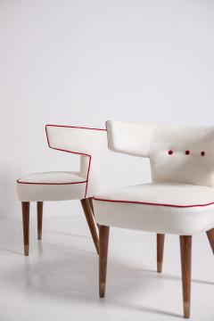 Nino Zoncada Gio Ponti and Nino Zoncada Chairs for ship Giulio Cesare mod 538 1950s - 1973727