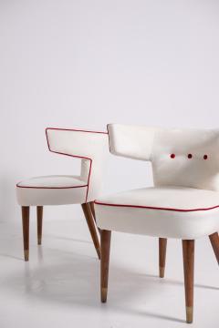 Nino Zoncada Gio Ponti and Nino Zoncada Chairs for ship Giulio Cesare mod 538 1950s - 1973729