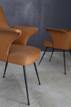 Nino Zoncada pair of chairs by Nino Zoncada from 1950  - 1019217