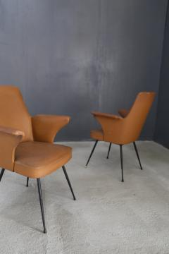 Nino Zoncada pair of chairs by Nino Zoncada from 1950  - 1019219