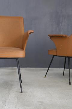 Nino Zoncada pair of chairs by Nino Zoncada from 1950  - 1019223