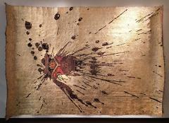 No mi Kiss GOLDEN SPLASH wall piece tapestry - 859793