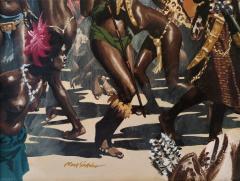 Noel Sickles African Tribal Celebration Alex Haley Roots for Readers Digest - 1891624