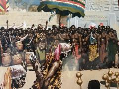 Noel Sickles African Tribal Celebration Alex Haley Roots for Readers Digest - 1891625