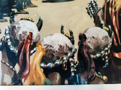 Noel Sickles African Tribal Celebration Alex Haley Roots for Readers Digest - 1891629