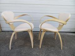 Norman Cherner Lovely Pair of Norman Cherner Plycraft Pretzel Chairs Mid Century Modern - 1629144