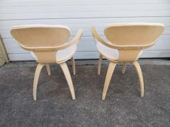 Norman Cherner Lovely Pair of Norman Cherner Plycraft Pretzel Chairs Mid Century Modern - 1629167