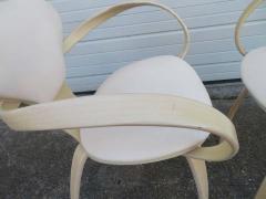 Norman Cherner Lovely Pair of Norman Cherner Plycraft Pretzel Chairs Mid Century Modern - 1629172