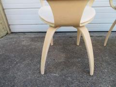 Norman Cherner Lovely Pair of Norman Cherner Plycraft Pretzel Chairs Mid Century Modern - 1629175