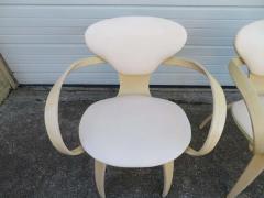 Norman Cherner Lovely Pair of Norman Cherner Plycraft Pretzel Chairs Mid Century Modern - 1629183