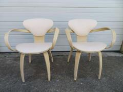 Norman Cherner Lovely Pair of Norman Cherner Plycraft Pretzel Chairs Mid Century Modern - 1629187