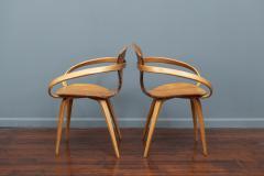 Norman Cherner Norman Cherner Pretzel Armchairs for Plycraft - 1147777