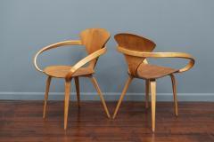 Norman Cherner Norman Cherner Pretzel Armchairs for Plycraft - 1147779