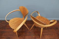 Norman Cherner Norman Cherner Pretzel Armchairs for Plycraft - 1147780