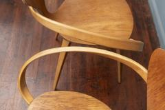 Norman Cherner Norman Cherner Pretzel Armchairs for Plycraft - 1147781