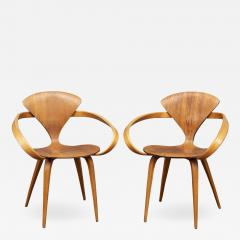 Norman Cherner Norman Cherner Pretzel Armchairs for Plycraft - 1148365