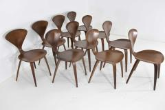 Norman Cherner Set of Ten Cherner Side Chairs - 1146058