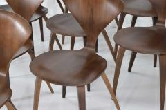Norman Cherner Set of Ten Cherner Side Chairs - 1146060