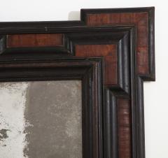 Northern Italian Baroque Walnut and Ebonized Mirror - 2093289